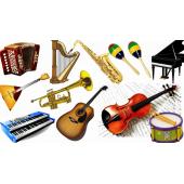 Для продажи музыкальных инструментов