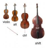 Для продажи скрипок и других смычковых инструментов